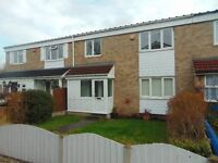Four bedroom mid terraced house to let in Chelmsley Wood