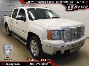 Used 2012 GMC Sierra 1500 4WD Crew Cab SLT-Leather,Touch Screen