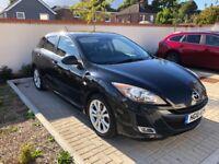 2010 Mazda 3 Sport 1.6 Petrol - Black, Good Condition, Bose Stereo, Heated Seats, Bluetooth