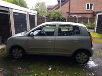 Kia Picanto 2004 reg. Currently unusable with SORN