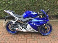 Yamaha YZFR125 2017