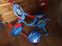 Thomas the tank engine bike and helmet