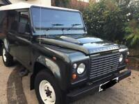 2007 Defender 110 county hard top 2.4cc