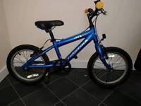 Boy's ridgeback mx 16 bike