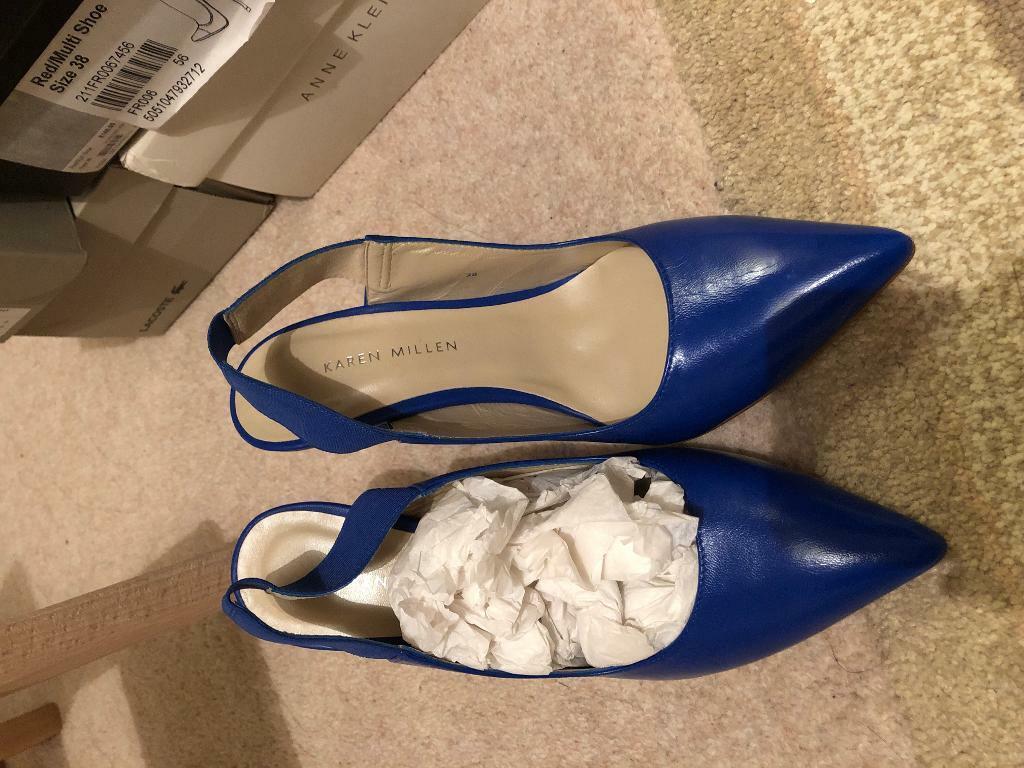 b80613efa63 Karen millen shoes, size 38, blue | in Aberdeen | Gumtree