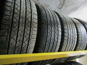 SET OF USED MICHELIN TIRES 235/55R18