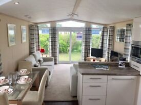 luxury pemberton warwick caravan holiday home available at sunnydale holiday park near mablethorpe.