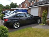 BMW 320d Efficient Dynamics 2012 Black + 4 Winter tyres in excellent condition included