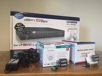 CCTV Demo Kit for sale :: Alien Mega Hero DVR :: 500GB HDD :: 1xHD Camera and 1x Nite Devil Camera