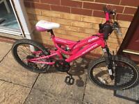 Girls muddy fox bike 20 inch