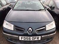 Renault Megane 1.5 DCI Convertible 2007 model 2dr 6 months mot only £999