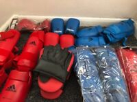 Karate equipment for sale - mix of new and used