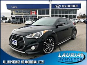 2016 Hyundai Veloster Turbo Auto - Leather / Navigation