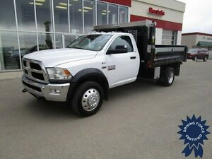 "2014 Ram 5500HD SLT Regular Cab 4x4 Gas DRW w/11' 6"" Dump Box"