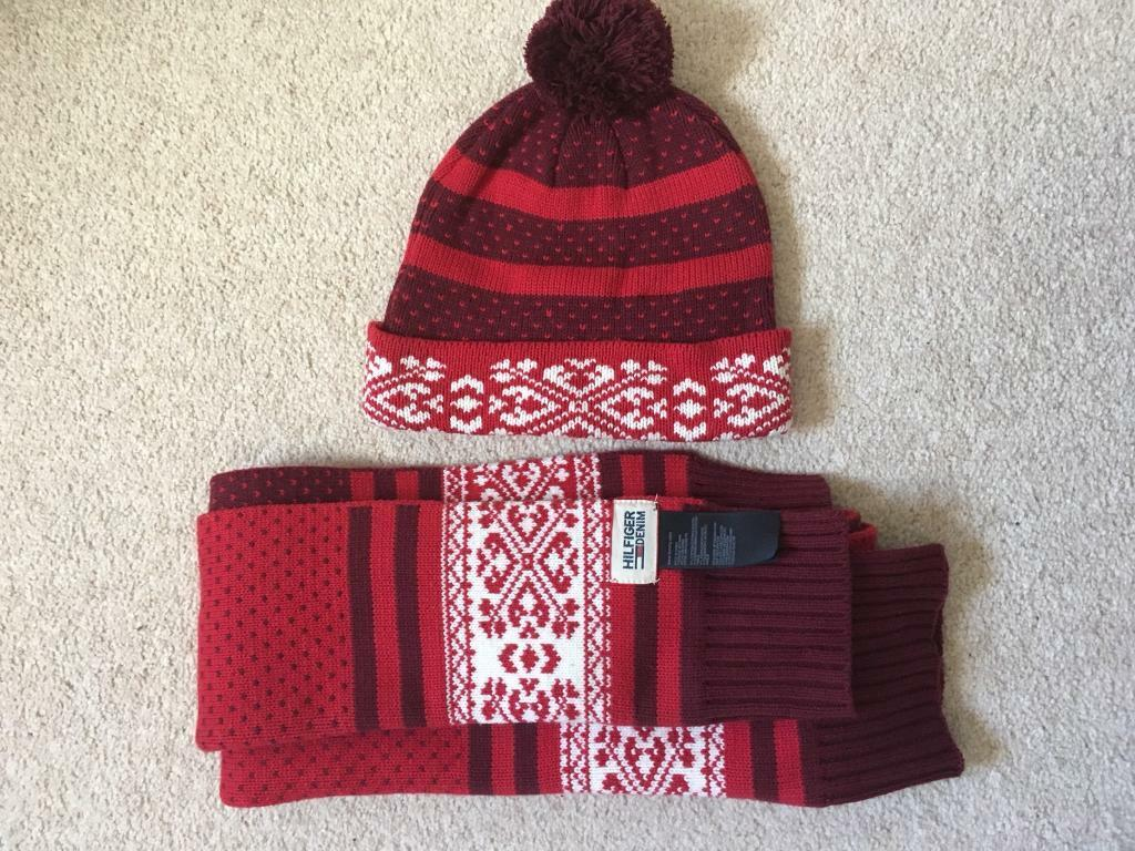 Tommy Hilfiger hat and scarf £5