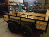 8ftx5ft3in twin axle trailer