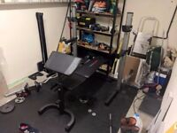 Weider Pro 490 DC Weights Bench and Rack