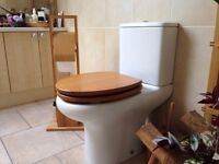 modern close flush toilet