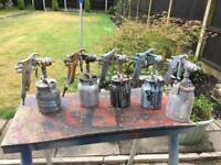 Sealey spray tools