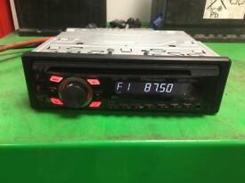 Pioneer car radio and aux deh 1300mp