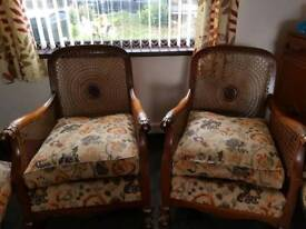 Antique ball claw 3 piece suite