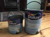New Paint - Dulux 'first dawn' Matt paint. Unused and Unopened. 2.5 litre and 5 litre.