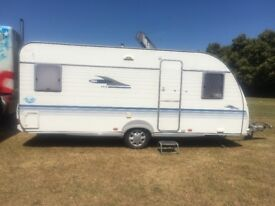 Adria fixed bed caravan for sale 2004