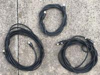 midi cables x 3