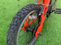 "16"" wheel Hoy Bonaly kids bike"