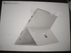 Microsoft Surface Pro 6. 12.3 Touchscreen Pixel Sense Display. 128GB SSD. 8th Gen Intel i5. 8GB RAM. Surface Warranty