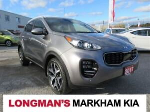 2017 Kia Sportage SX Turbo w/Black
