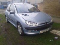 2003 Peugeot 206 1.0 petrol 12 month quick sale !!!