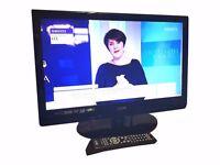 """Logik L22DVDB20 22"""" HD, DVD, SCART, USB LCD Television 1080P FULL HD"""