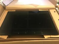 Kuppersbusch Induction hob, black, excellent condition