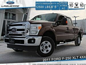 2011 Ford F-250 XLT**4X4*A/C*BLUETOOTH*CRUISE**