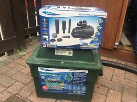 Pond pump/filter