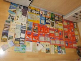 JOB LOT OF MAPS AS SEEN IN THE PHOTOS...