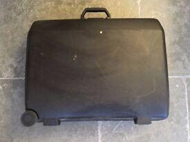 Black Samsonite Wheeled Medium Hard Suitcase