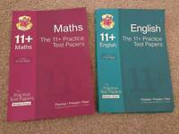 Maths and English Practice Test Papers for 11+ AQE and GL