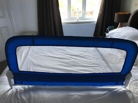 Blue Childs Bed Safety Rail