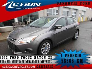 2013 Ford Focus 5-dr SE,auto,air,bluetooh,démarreur distance