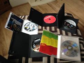 7 DVDs bundle