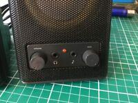Logitech Desktop Speakers.