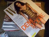 W-magazine 27 copies 2009-2013