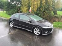 Honda Civic S Type GT - 2.2 cdti - Fabulous condition - Complete history - New MOT - Factory s/roofs