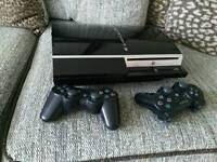 Playstation 3 with wireless remotes