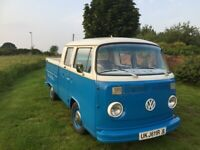 Used, 1977 VW T2 BAY CREW CAB / DOUBLE CAB PICKUP for sale  Wakefield, West Yorkshire