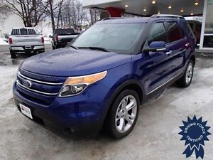 2015 Ford Explorer Limited 4x4 - 16,856 KMs, 7 Passenger SUV