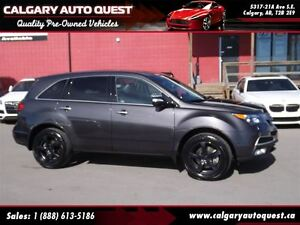 2010 Acura MDX AWD/B.CAM/3RD ROW/LEATHER/ROOF