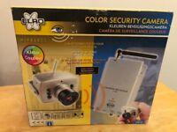 ELRO CCTV WIRELESS INDOOR COLOUR 2CH SECURITY SYSTEM SURVEILLANCE CAMERA C910UK